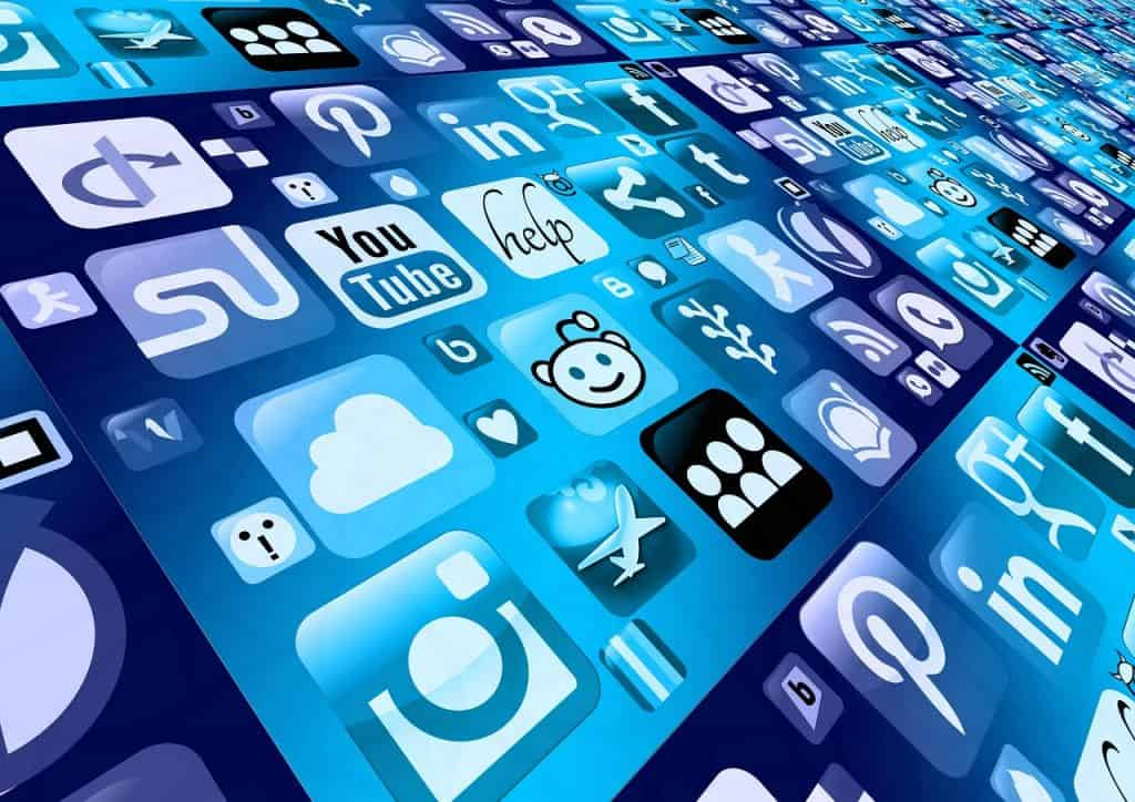 לוגואים של רשתות חברתיות ואתרים